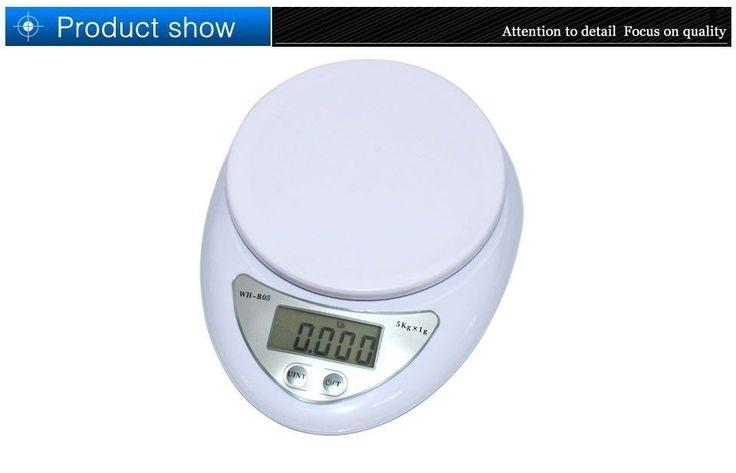 10 Pounds 5Kg/1G Digital Electronic Kitchen Food Diet Postal Scale