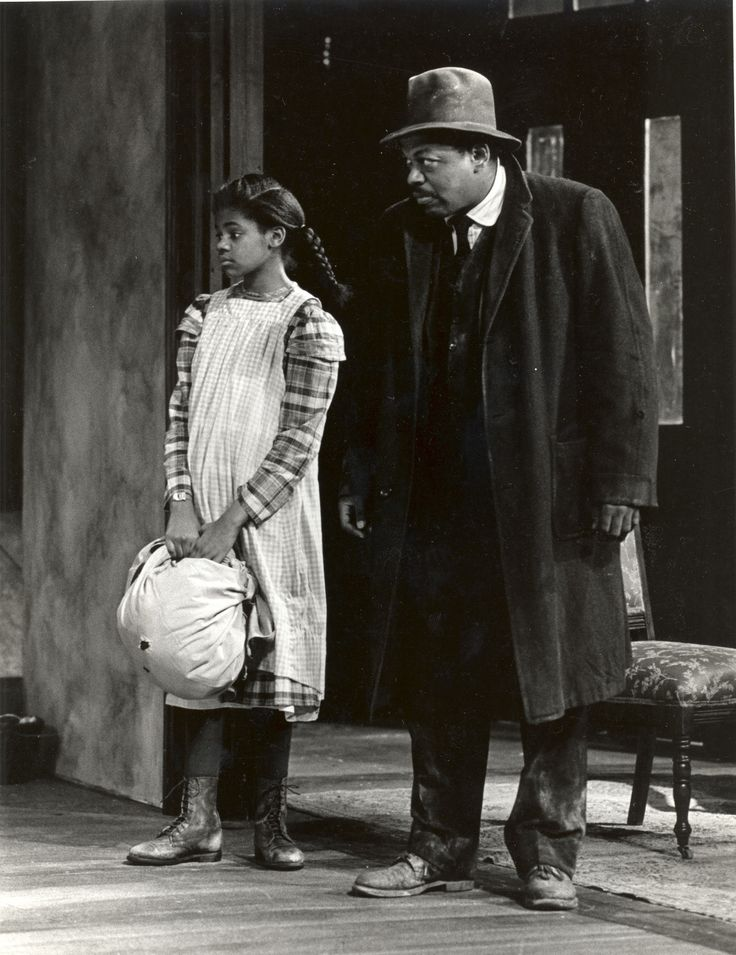 LaJara Henderson and Charles S. Dutton in 'Joe Turner's Come and Gone'. Photo by Paul J. Penders, 1986.