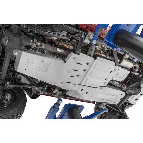 Quadratec Aluminum Modular Engine Transmission And Transfer Case Skid Plates For 07 18 Jeep Wrangler Jk Jeep Wrangler Jeep Transfer Case