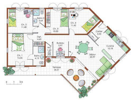 41 best Architecture images on Pinterest Home ideas, Future house - creer plan maison gratuit