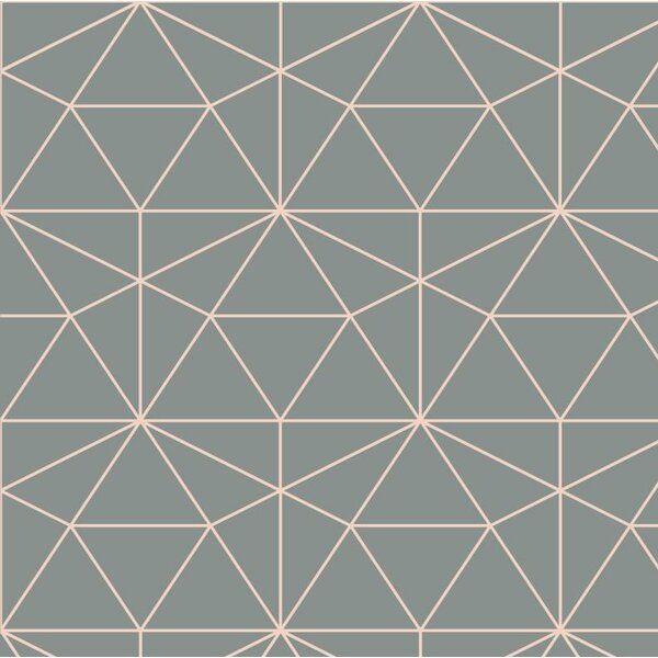 Graphic Quartz 24 L X 25 W Peel And Stick Wallpaper Roll Wallpaper Roll Geometric Wallpaper Peel And Stick Wallpaper