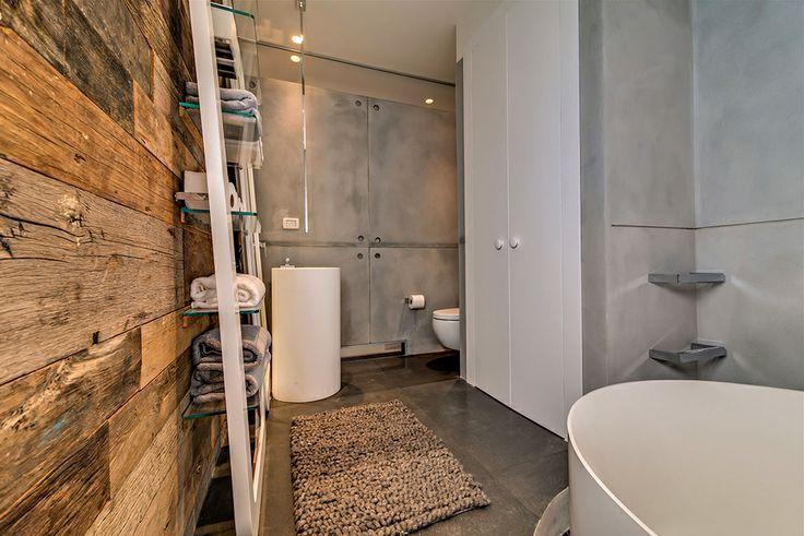 Piękny, nowoczesny apartament w Tel Avivie #modern #architecture #interior #apartments