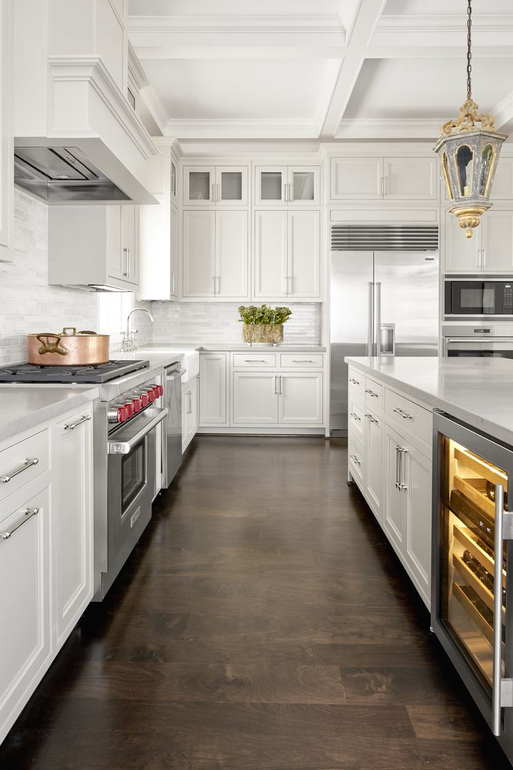 34 best White Cabinet Kitchens images on Pinterest   White cabinet ...