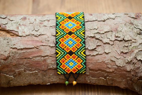 Beaded Huichol Bracelet