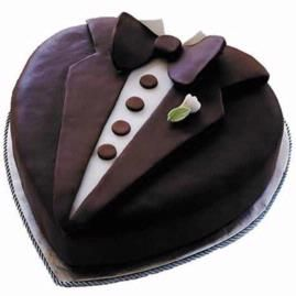 How to make a Tasteful Tux Cake. All dressed up and ready to go, this dapper cake will charm your guests. This cake is crafted using the Heart Pan Set and Ready-To-Use Rolled Fondant.Sweets Temptation, Heart Pan, Things Cake, Cake 1171334, Grooms Cake, Tux Cake, Rolls Fondant, Chocolates Decor Cake, Hats Sweets