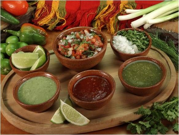 salsa bar- maybe have the neighbors bring their own favorite?