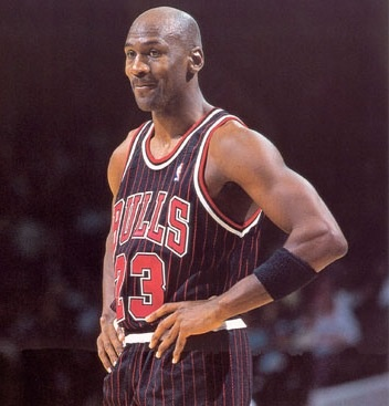 This Day In Basketball History: July 12,1996 - Michael Jordan signs a NBA contract for 1 year for $25 million  keepinitrealsports.tumblr.com  keepinitrealsports.wordpress.com  facebook.com/pages/KeepinitRealSports/250933458354216  Mobile- m.keepinitrealsports.com