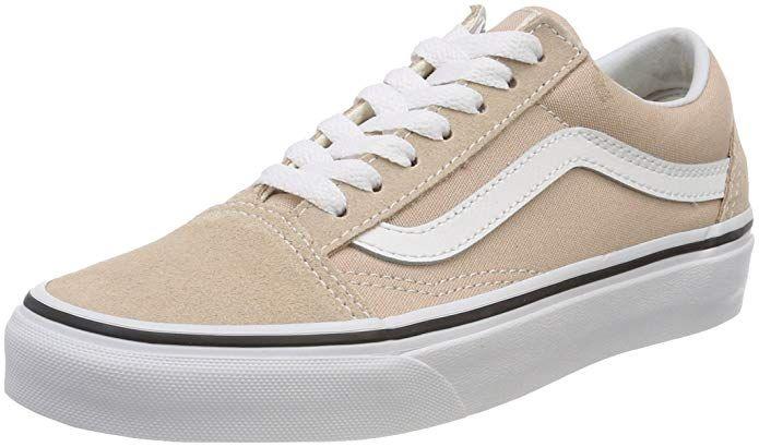 Vans Old Skool Schuhe Damen Beige (Frappe)   Schuhe damen, Vans ...