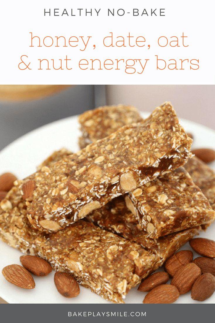 Ingredients in meta health bars - Honey Date Oat Nut Energy Bars Conventional Method