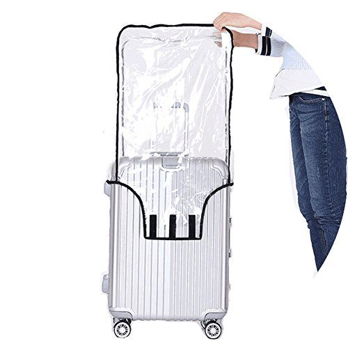 "#Luggage #Protector #Suitcase #Cover #PVC #Bag #Dust #proof #Travel #Suitcase #Fits Most 20""22""24""26""28""30"" Please Measure your #Luggage size Carefully (the last picture showing all #Cover size detail. DO NOT include wheel height when measure Cuggage Height), #Fits most major #luggage brands! #PVC Material :High Quality clear #PVC finish for total protection Reusable. Keep your #luggage away from scratched, stained, messy or ruined with this clear #PVC #luggage #cover. http"