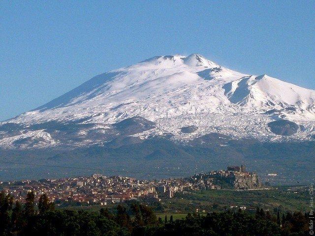 Вулкан Этна, Сицилия, Италия - Путешествуем вместе