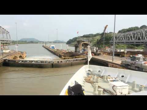The Panama Canal Time Lapsed in HD