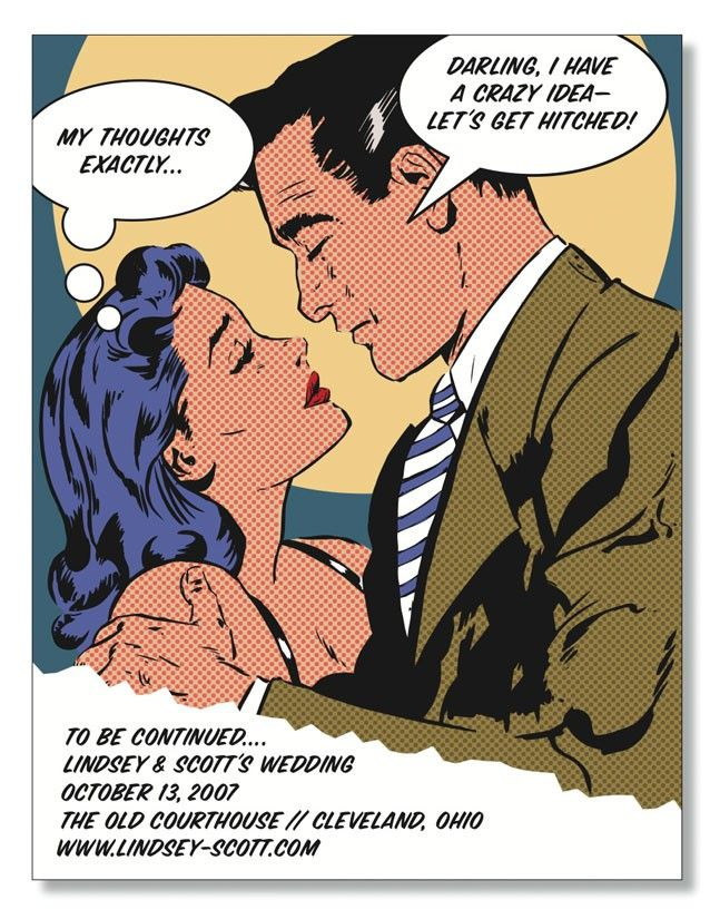 14 best Pop Art images on Pinterest | Pop art, Wedding stationery ...