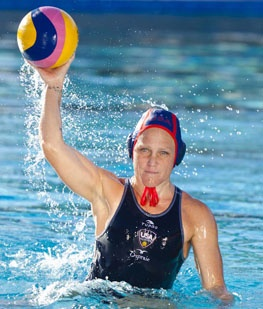 2012 USA Woman's Olympic Waterpolo Team - Heather Petri - I've known her since she was an infant. One of two olympians who swam at Moraga Valley Pool. She played in 4 Olympic Games! Medaled every time. Gold in 2012.