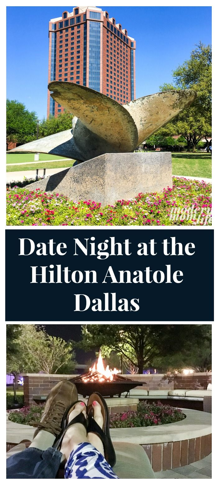 Pack Your Bags and Head to the Dallas Hilton Anatole for an unforgettable date night experience. Enjoy a day at the spa, SER for dinner, and explore the grounds for hours! This Dallas hotel is the perfect destination!  via @amodernmomlife