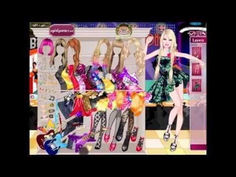 Barbie Rock Diva   Girls games