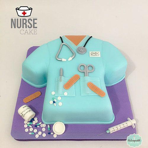 Torta Enfermera en Medellín por Dulcepastel.com #nurse #nursing #nursecake #tortadeenfermera #tortaenfermera #enfermera, #enfermeria, #acetominofen #banditas, #inyectadora #pildoras #pastillas #estetoscopio #tortasmedellin #tortaspersonalizadas #tortastematicas #cupcakesmedellin #tortasartisticas #tortasporencargo #tortasenvigado #reposteriamedellin #reposteriaenvigado