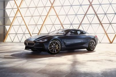 The BMW 8 Series Concept takes big BMs back to their roots