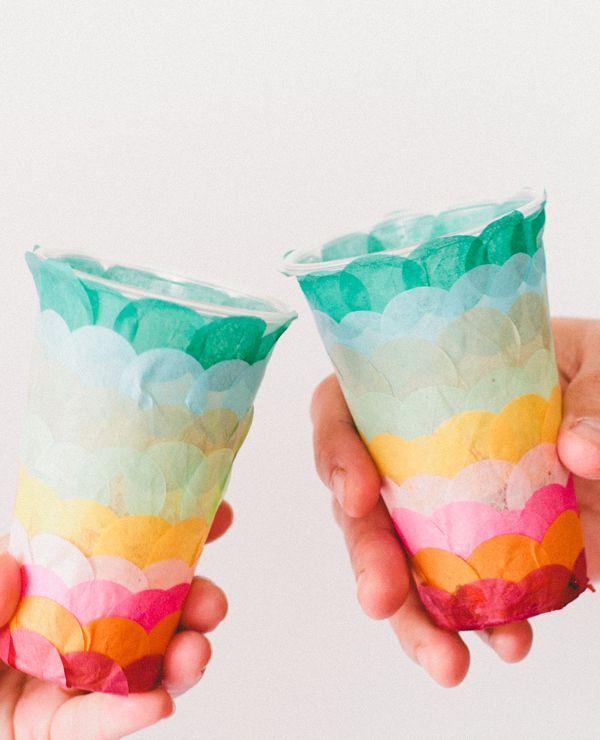 paper confetti cups