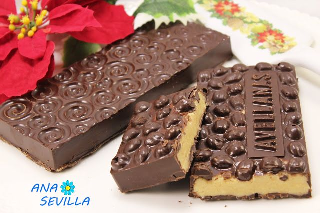 Turrón Praliné De Avellanas Thermomix Recetas De Dulces Faciles Turron De Chocolate Postres Navideños