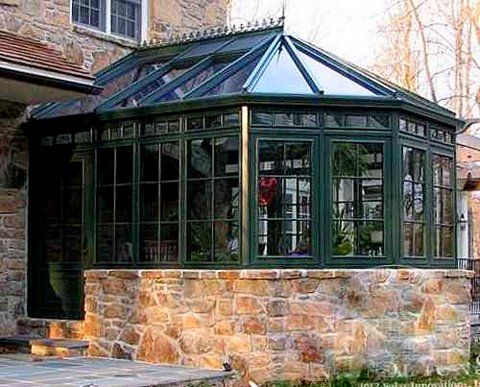 17 best images about conservatories on pinterest for Glass house additions