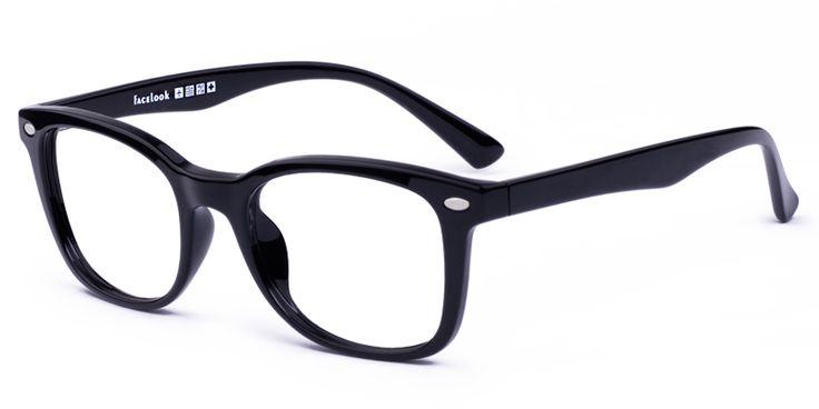 Unisex full frame memory plastic eyeglasses - FL18235 | Firmoo.com
