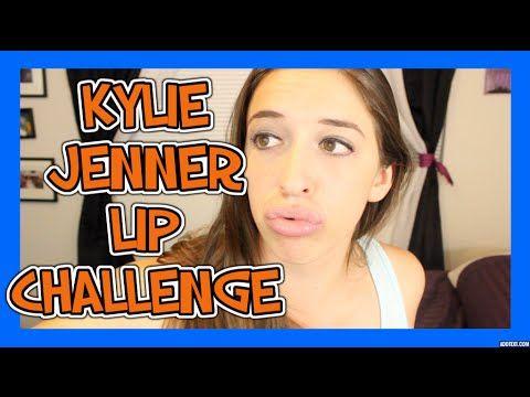 Kylie Jenner Lip Challenge!!!!