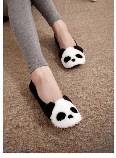 Image via We Heart It https://weheartit.com/entry/152717212/via/15207186 #cute #panda #shoes
