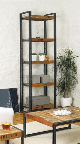 Beautiful Reclaimed Urban Chic Open Alcove Bookcase - Shop Now. – Chattels