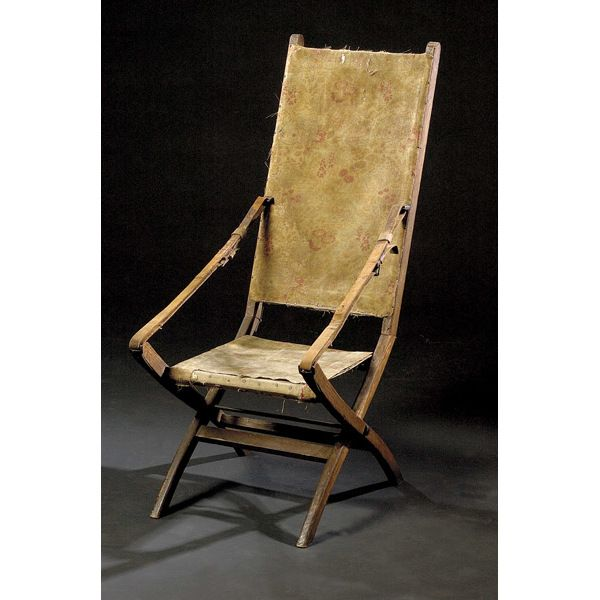 George Armstrong Custer's  Indian Wars Camp Chair,