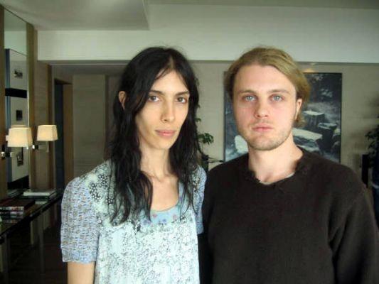 Jamie Bochert and boyfriend Michael Pitt | Jamie Bochert ...