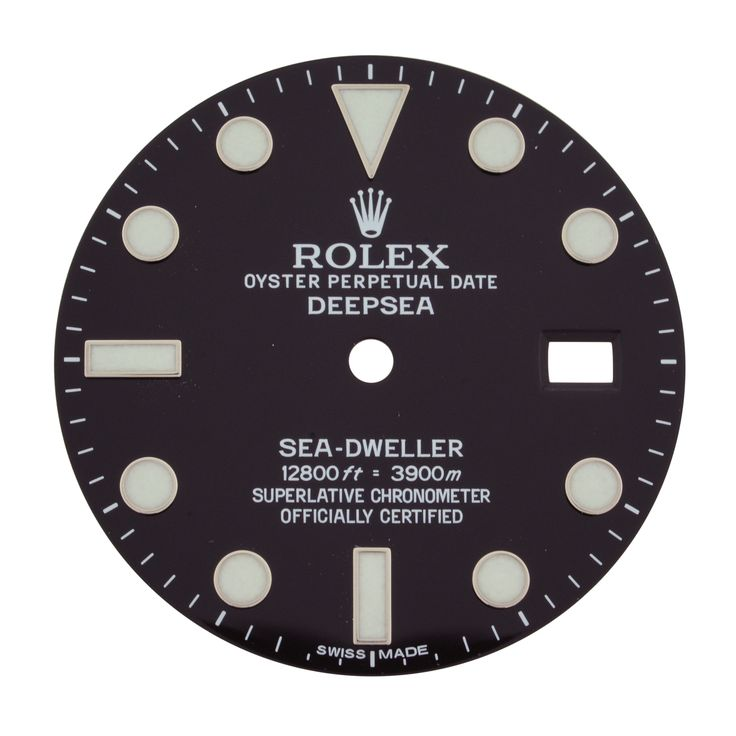 Rolex Sea-Dweller Deepsea 28 mm Black Dial for 116660 44 mm Men's Watch Model
