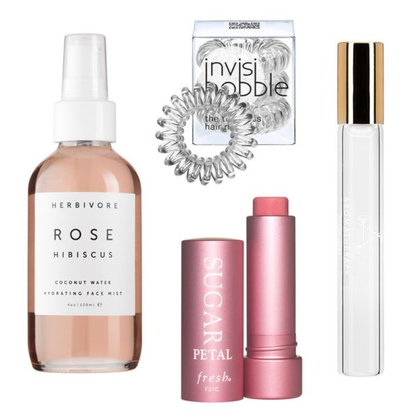 All-night study sessions call for rejuvenating products. We suggest a face mist to keep your skin hydrated (and your eyes open) and a kink-free hair tie that won't destroy your locks. Applying an aromatherapy oil to wrists and temples creates an aura of calm, while a tinted balm provides lips and cheeks with a natural flush of color.