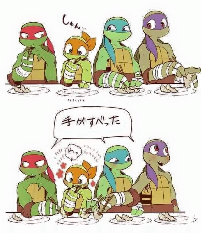 At all times TMNT /Facebook