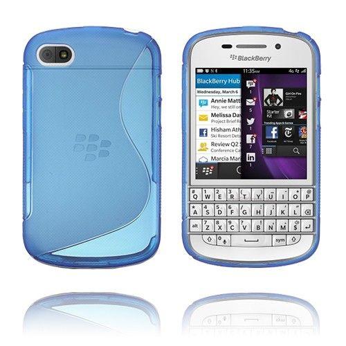 S-line (Blå) BlackBerry Q10 Deksel