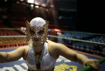 Meet Princess Sujei, a Female Mexican Wrestler with Passion, Pride and Determination   Mexico Current News and Mexico Current Events, all th...