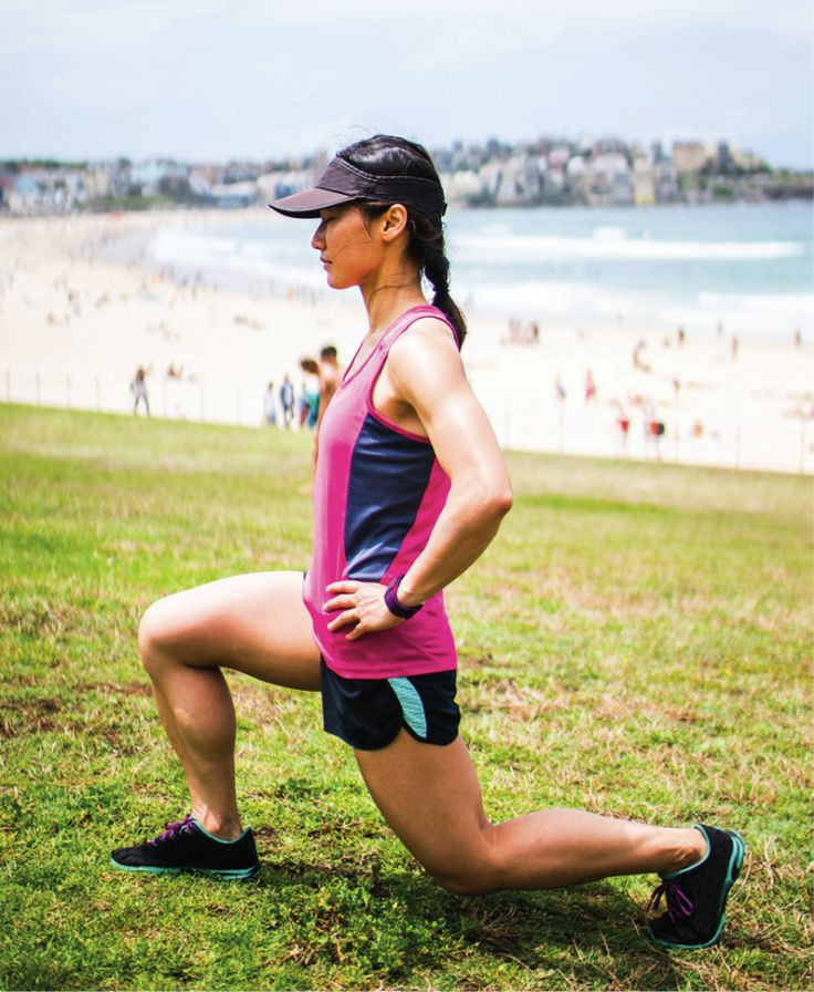 Ready, set, run...but wait! Don't forget to stretch. This is the best stretch to do both pre- and post-run according to our resident coach.