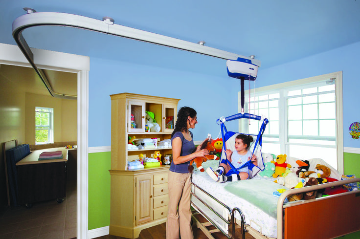 bildnow.com ceiling lifts - track systems - improving lives of people with disability