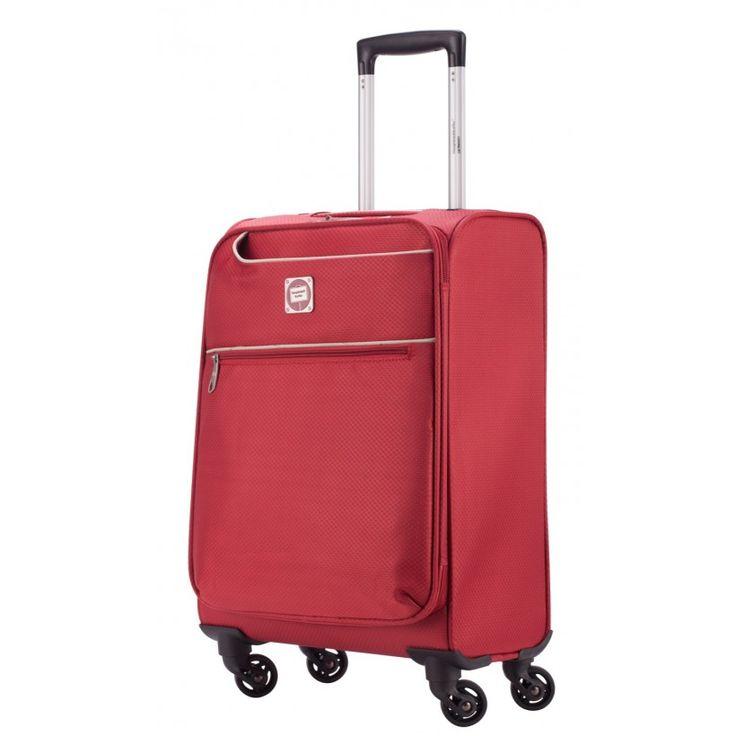 """Mitte light - Handgepäck Weichgepäck Rot, 50 cm, 33 Liter;  Roter #Rollkoffer aus der Serie """"Mitte light"""" von #Hauptstadtkoffer.  #Weichgepäck #Handgepäck #Cabinsize #Kabinentrolley  #Rot #Rollkoffer #Trolley #Koffer #Travel #Luggage #Reisen #Urlaub #red #rouge => mehr Rote Koffer: https://hauptstadtkoffer.de/de/catalogsearch/result/index/?color=26&limit=90&q=Rot"""