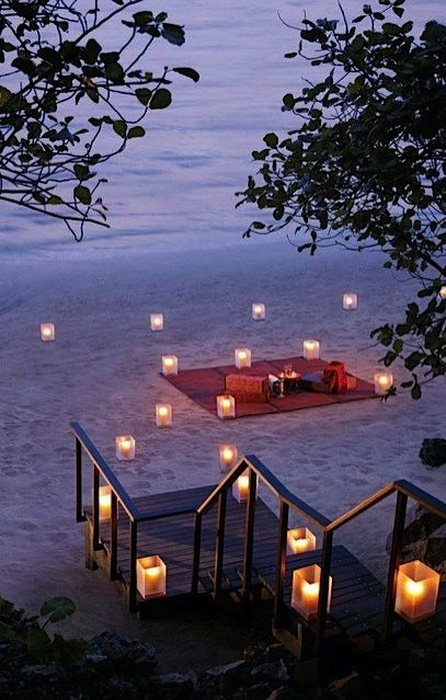 I would love to have this set up for me. The start of a wonderful evening! ;D LO