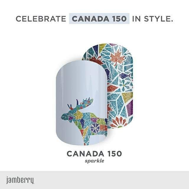 Look how cool!! I got mine!  #jamminwithmjm #jamberry #canada #canada150