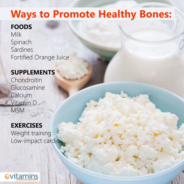 It's never too early to start looking after the health of your bones. Stick with it to stay active and strong.