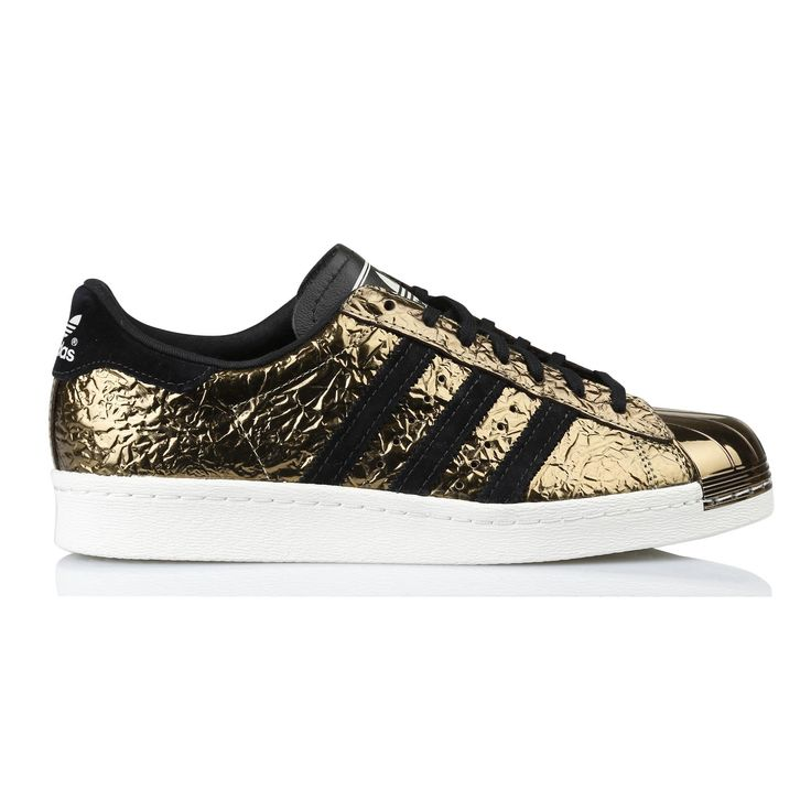 Baskets Superstar 80's Métal DORE by ADIDAS sur Place des Tendances