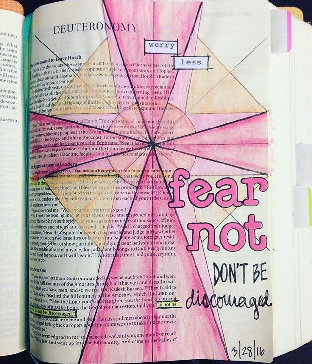 Bible Journaling by @hellostephanieg
