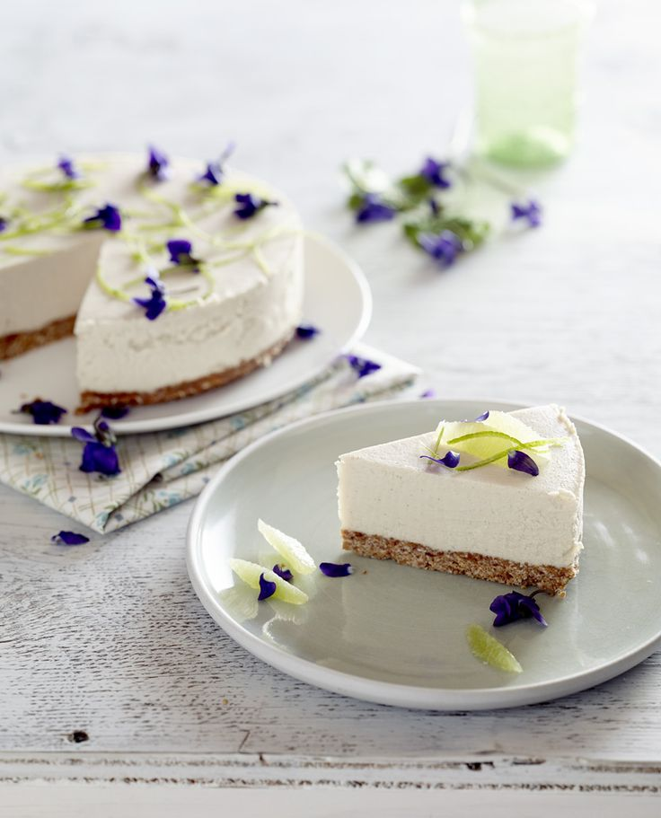 Lemon and Lime Cheesecake, recipe by Cat Cannizzaro via Pete Evans