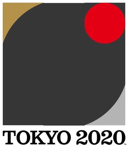 the composition logo,Tokyo Olympic 2020( Kenjiro Sano ) and Tokyo Paralympics 2020( Kenjiro Sano ) fusing.佐野研二郎デザイン東京オリンピック公式ロゴと東京パラリンピック公式ロゴを合成した図。