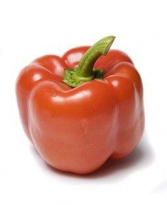 Gevulde paprika soep
