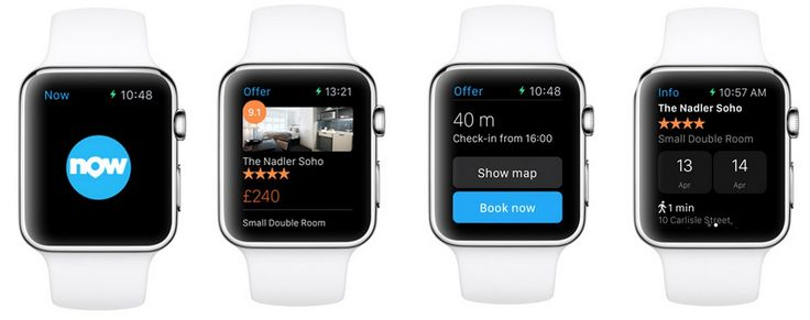 Booking.com | Launches the First Instant Booking Travel App for Apple Watch