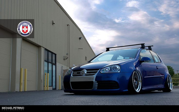 vw photography | VW Golf R32 on HRE Wheels - Photo #1
