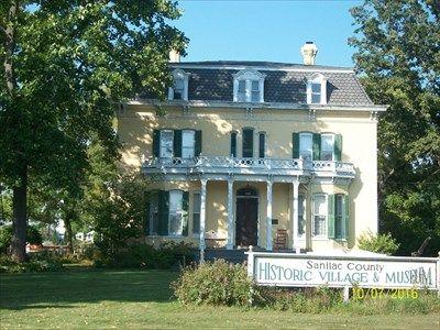 Loop-Harrison House (1854) - Port Sanilac, MI - Michigan Centennial Farms on Waymarking.com